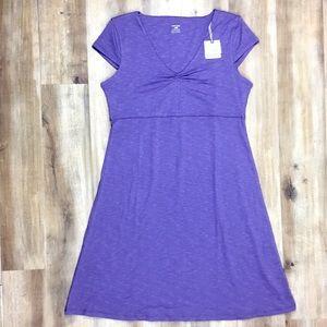 NEW Horny Toad Purple Dress L